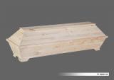 Kiefernsarg ÜB Roh 73 cm