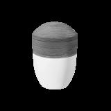 HORIZONT Urne flanell weiß